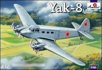 A Model From Russia 1/72 Yak8 Soviet Passenger Aircraft Kit