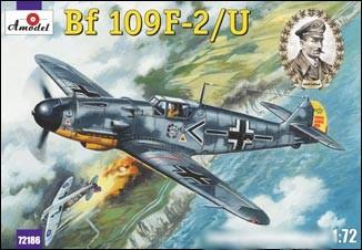 A Model From Russia 1/72 Bf109F2/U Fighter Kit