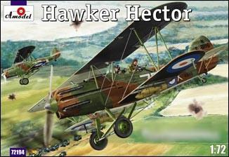 A Model From Russia 1/72 Hawker Hector British BiPlane Fighter Kit