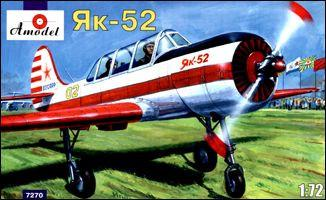 A Model From Russia 1/72 Yak52 Soviet Fighter Kit
