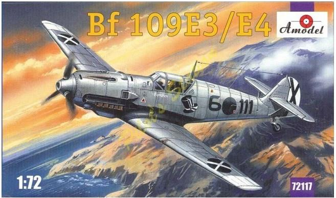 A Model From Russia 1/72 Bf109E3/4 Fighter Kit