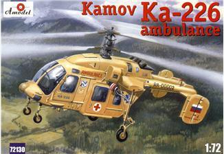 A Model From Russia 1/72 Kamov Ka226 Soviet Ambulance Helicopter Kit