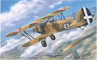 A Model From Russia 1/72 Hawker Fury Yugoslavian Air Force BiPlane Fighter 1939 Kit