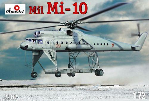 A Model From Russia 1/72 Mil Mi10 Helicopter Kit