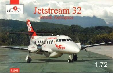 A Model From Russia 1/72 Jetstream 32 British Aerospace Aircraft Kit
