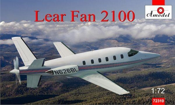 A Model From Russia 1/72 Lear Fan 2100 Turboprop Aircraft Kit