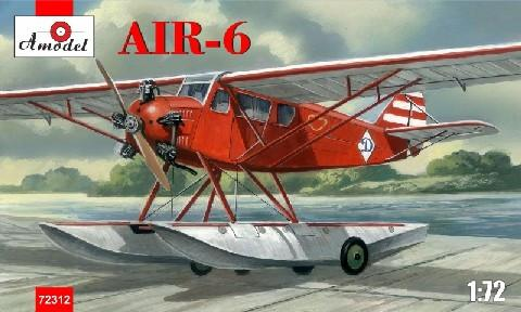 A Model From Russia 1/72 AIR6 Soviet Floatplane Kit