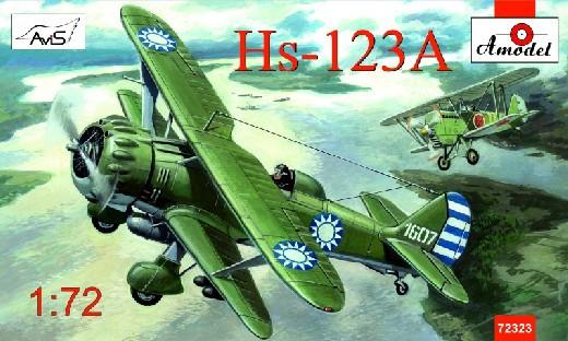 A Model From Russia 1/72 Henschel Hs123A Chinese Dive Bomber Kit