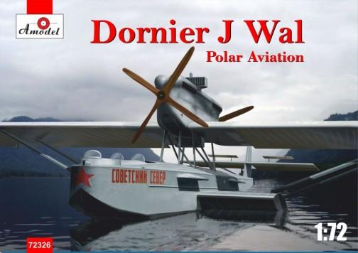 A Model From Russia 1/72 Dornier J Wal Polar Aviation German Flying Boat (New Tool) Kit