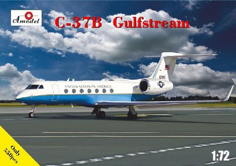 A Model 1/72 C37B Gulfstream United States of America Jet Airliner Kit
