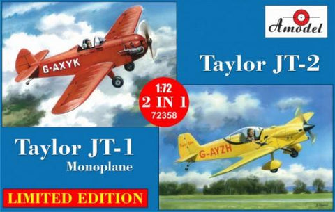 A Model From Russia 1/72 Taylor JT1/JT2 Monoplane (2 in 1) Ltd Edition Kit