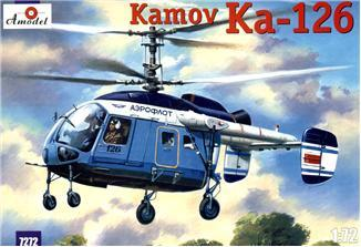 A Model From Russia 1/72 Ka126 Soviet Light Helicopter Kit