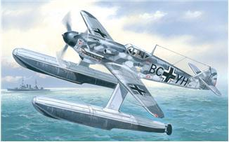 A Model From Russia 1/72 Bf109w Fighter w/Floats Kit