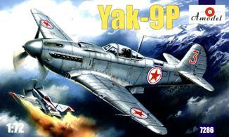 A Model From Russia 1/72 Yak9P Soviet Fighter Kit