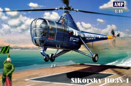 AMP Aircraft 1/48 Sikorsky H03S1 US Marines Helicopter (New Tool) Kit