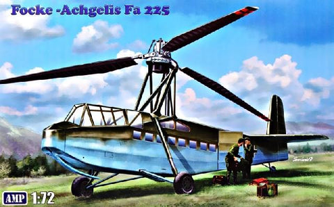AMP Aircraft 1/72 Focke Achgelis FA225 Transport Helicopter Kit