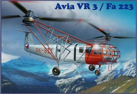 AMP Aircraft 1/72 Avia Vr3/Fa223 Transport Helicopter Kit