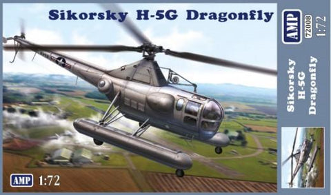 AMP Aircraft 1/72 Sikorsky H5G Dragonfly Helicopter (New Tool) Kit