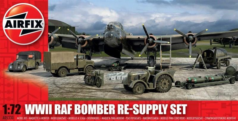 Airfix 1/72 WWII RAF Bomber Re-Supply Set