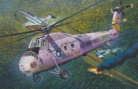 Gallery 1/48 HH-34J USAF Combat Rescue Kit
