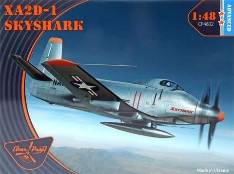 Clear Prop 1/48 XA2D1 Skyshark Early Version Attack Aircraft (Advanced) (New Tool) Kit
