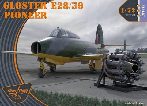 Clear Prop 1/72 Gloster E28/39 Pioneer Jet (New Tool) Kit