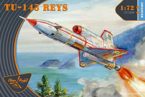 Clear Prop 1/72 TU143 Reys Unmanned Recon Aircraft (Advanced) Kit