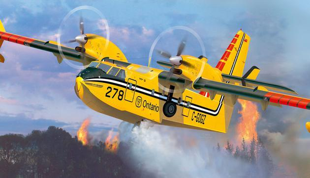 Revell Germany Aircraft 1/72 Canadair CL415 Aircraft Kit