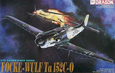 Dragon 1/72 Focke Wulf Ta152C/0 Aircraft Kit