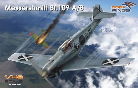 Dora Wings 1/48 Messerschmitt Bf109A/B Legion Condor Aircraft Kit