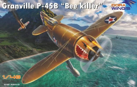 Dora Wings 1/48 Granville O45B Bee Killer Aircraft Kit