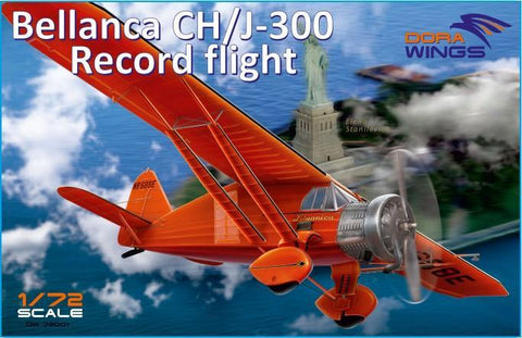 Dora Wings 1/72 Bellanca CH/J300 Record Flight Aircraft (New Tool) Kit
