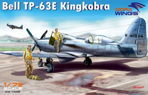 Dora Wings 1/72 TP63E Kingcobra Aircraft Kit