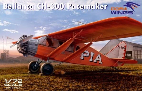 Dora Wings 1/72 Bellanca CH300 Peacemaker Six-Seat Utility Aircraft Kit