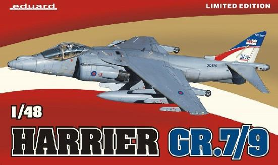 Eduard 1/48 Harrier GR7/9 Aircraft Ltd. Edition Kit