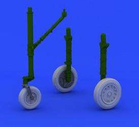 Eduard Details 1/48 Aircraft - A4E/F Wheels for EDU & HSG (Resin)