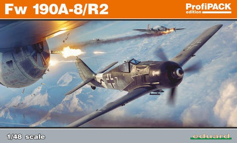 Eduard 1/48 Fw190A8/R2 Aircraft Profi-Pack Kit