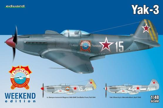 Eduard Aircraft 1/48 Yak3 Fighter Wkd. Edition Kit