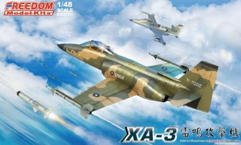 Freedom Model Aircraft 1/48 XA3 Lui Meng Single-Seater Attack Aircraft (New Tool) Kit