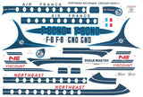 Glencoe Aircraft 1/96 Vickers Viscount 708 Airliner w/Air France & Northeast Airlines Markings Kit