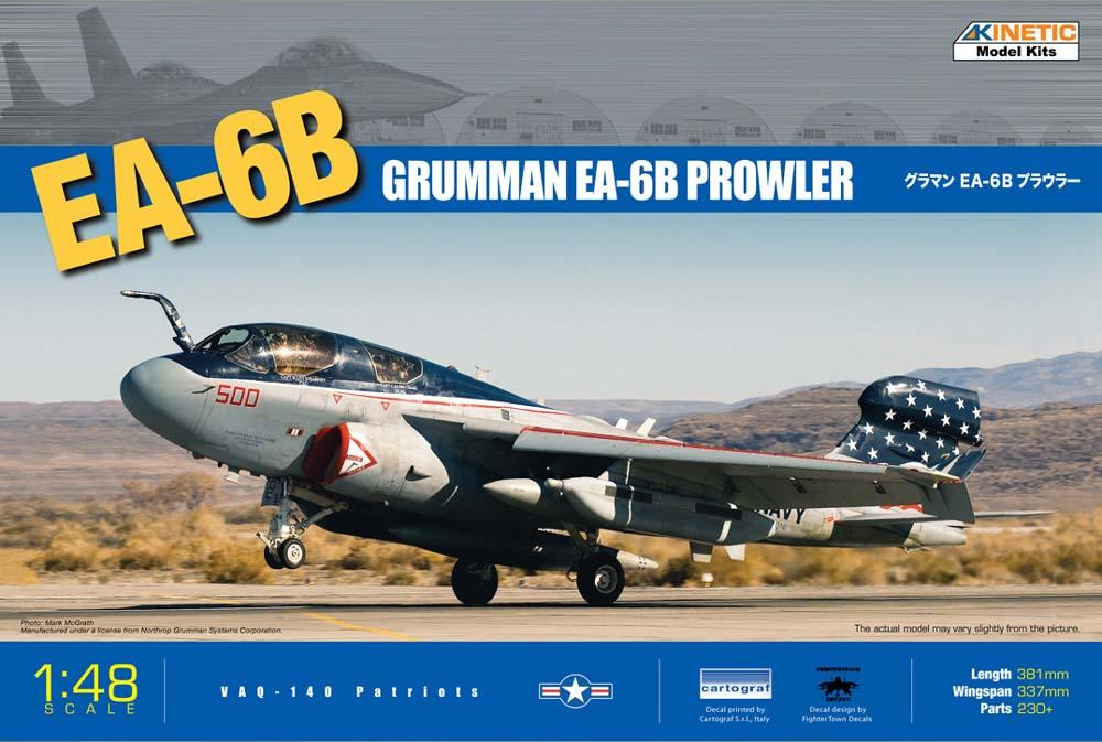 Kinetic 1/48 EA-6B Prowler Kit