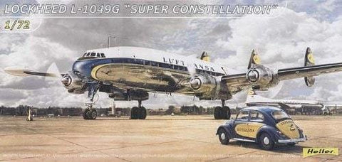 Heller Aircraft 1/72 L1049 G Super Constellation Aircraft Kit