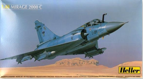 Heller Aircraft 1/48 Mirage 2000C Fighter Kit
