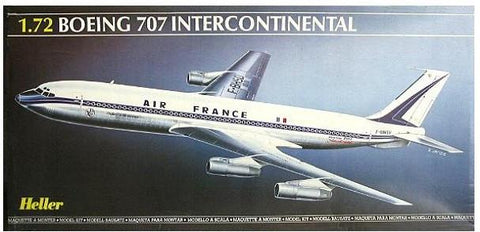 Heller Aircraft 1/72 B707 Air France Commercial Airliner Kit