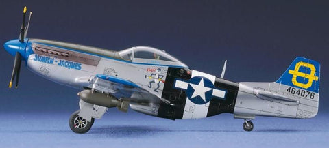 Hasegawa Aircraft 1/72 P51D Mustang USAAF Fighter Kit