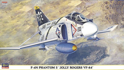 Hasegawa 1/72 F4N Phantom II Jolly Rogers VF84 Fighter Kit