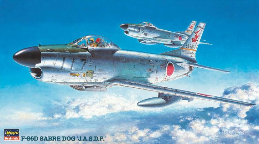 Hasegawa Aircraft 1/72 F86D Sabre JASDF Fighter (Re-Issue) Kit
