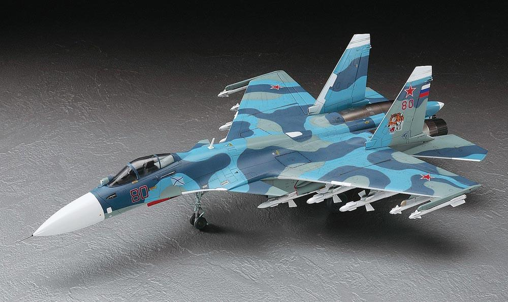Hasegawa Aircraft 1/72 Su33 Flanker D Fighter Kit