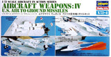 Hasegawa Aircraft 1/72 Weapons IV - US Air to Ground Missiles Kit