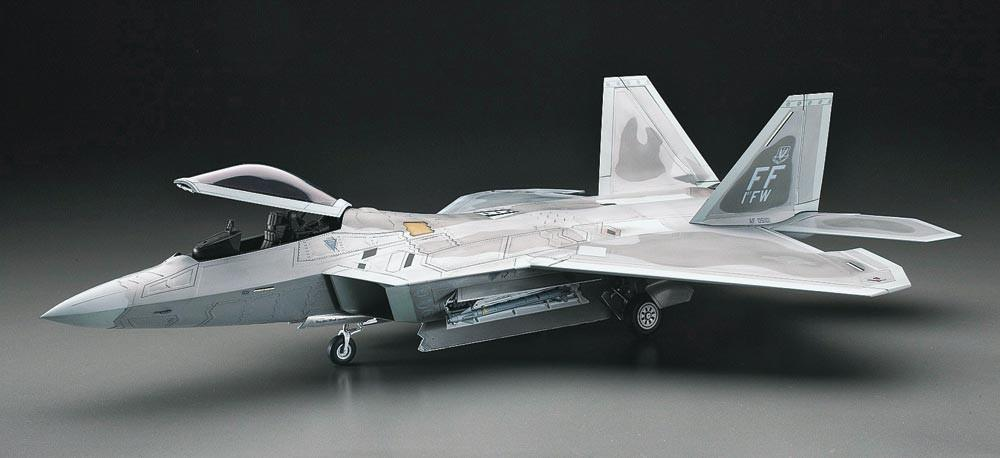 Hasegawa 1/48 F22 Raptor USAF Superiority Fighter Kit